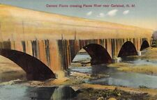 Cement Flume, Pecos River, Carlsbad, NM, New Mexico Old Postcard