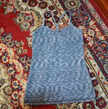 LULULEMON POWER Y TANK WEE ARE FROM SPACE ICE GREY ALPINE WHITE SZ-6/S