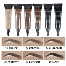 Black Chololate Henna Tattoo Paint Eyebrow Gel Makeup Kit Waterproof Eye Brows