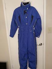 Marker Snow One-Piece Ski Suit blue SIZE 6 Pre own