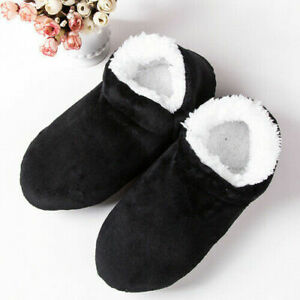 Home slippers men large size 48 winter slippers suede floor shoes lazy shoes