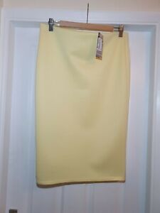 New Yellow Skirt by Climax Designs, Uk size 16