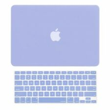 "2in1 Serenity Blue Matte Hard Case+Keyboard Skin for Macbook Air 13""A1369 /"