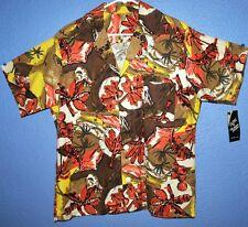 Parrot head Hawaiian Island Vintage Abstract Tropical Vacation Casual Buffett
