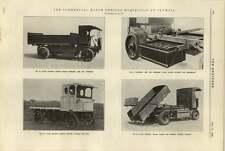 1920 Richard Garrett Electric Vehicle Electric Tipping General Vehicle