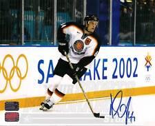 Dennis Seidenberg Boston Bruins Signed 2002 Winter Olympics Team Germany 8x10