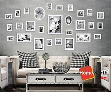 28 pcs photo picture frame wall art collection decor  frames  gift present white