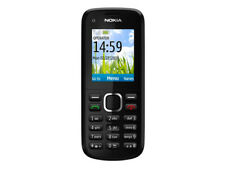 NOKIA C1-02 Bluetooth Unlocked Bar Cell Phone GSM 900/1800 /1900 Mobile Phones