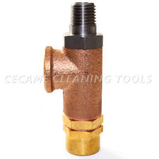 225 PSI Side Port Pressure Relief Valve Carpet Cleaning Truckmount