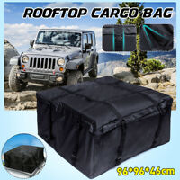 Waterproof Car Roof Top Rack Cargo Carrier Luggage Basket Bag Case Travel 4WD