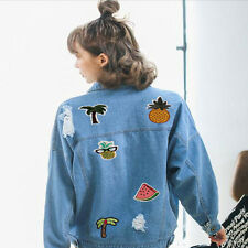 8pcs Lots Embroidery Sew Iron On Patches Badge Jeans Dress DIY Applique Craft ID
