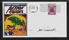 Action Comics #1 First Superman 1938 Featured on Collector's Envelope *A246