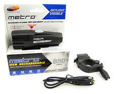 Cygolite Metro 850 Lumens USB Rechargeable Bicycle Head Light