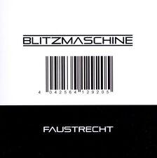 BLITZMASCHINE Faustrecht CD 2011