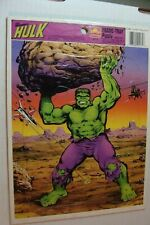 😍Vintage 1980 The Incredible Hulk Frame Tray Puzzle Whitman Marvel Golden 8x 11