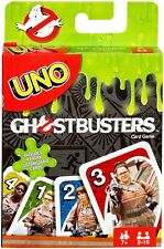 Ghostbusters Uno Card Game Bilingual French-English (Mattel, 2016) New, Sealed