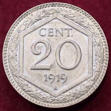 More details for italy 20 centesimos 1919 r (h1109)