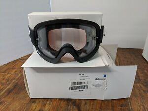 POC Ora Goggles: Black One Size mountain biking goggles clear lens. New w/ tags