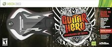 XBox 360 Hero 6 WARRIORS OF ROCK Guitar Kit Bundle Set w/Video Game Disc