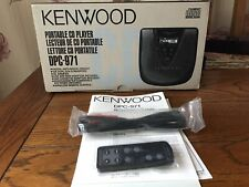 More details for kenwooddpc-971 portable cd player