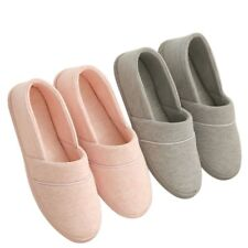 Women Cotton Slippers Winter-Autumn Home Thermal Indoor With Soft Out Sole Shoes