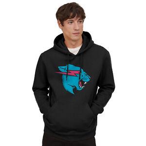 Mr Beast Lightning Cat Hoodie Mr Beast Merch Adult YouTuber Merch Mr Beast Logo