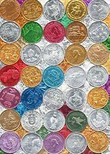 Collection of Mardi Gras Doubloons ~ 110 Different Token Lot - Nice Selection