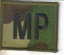 ROYAL MILITARY POLICE DPM 'WOODLAND' CAMO  MP PATCH