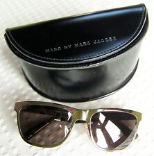 MARC by MARC JACOBS Bronze & Tortoise Frame Sunglasses /Black Magnetic Snap Case