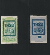 SOMALI COAST - FRENCH COLONIAL - 2 OLD STAMPS MH ( COFS 906 )