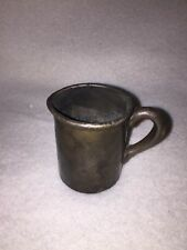 INTERNATIONAL SILVER Co. Silver Soldered Cup 2 oz. Jewish Hospital Antique