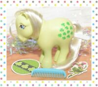 ❤️My Little Pony G1 Vtg 1982 Collector Ponies CF Minty & Original Comb Clovers❤️