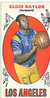 Elgin Baylor Topps 1969-70 Basketball Card