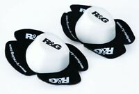 R&G Aero Wet Thick Pair of Motorcycle Motorbike Knee Sliders Road Race Track Day