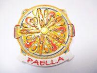 Paella Reisgericht Magnet Souvenir Spanien Espana Spain 7,5 cm neu