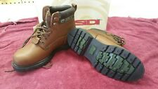 SIDI Land Riding Boots Steel Toe Brown Size 10.5 Harley Cruiser Work