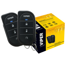 VIPER 5105V 1 WAY CAR ALARM REMOTE START SECURITY SYSTEM KEYLESS NEWEST MODEL