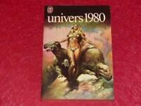 "[BIBLIOTHEQUE H.& P.-J. OSWALD] REVUE ""UNIVERS"" 1980 SADOUL FREMION J'ai lu 1093"