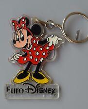 Euro Disney Minnie Mouse Keychain keyring