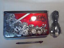 Nintendo 3DS XL Rojo Super Smash Bros con pre-loadedgame Mario Kart 7 £ 110