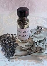 Lavender and California White Sage Essential Oil Protection Love Meditation