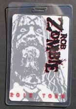 Vtg All Access Backstage Pass / VIP Laminate - 2012 Rob Zombie Tour