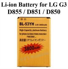 Battery BL-53YH for LG G3 D855/D851/D850/D830/VS985/LS990/F400/F460 Gold
