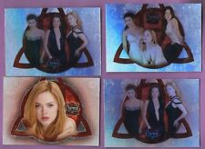 Lot of 7 Different Charmed Promo Cards: Season 1, Conversations, Connections,