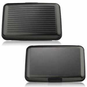 Wallet Credit Card Anti-RFID Scanning Protect Holder Blocking Hard Case