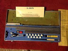 Vintage Lion Lettering Set
