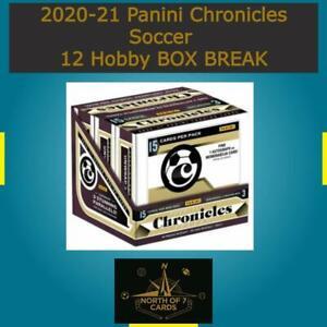 Wilfried Zaha 2020-21 Panini Chronicles Soccer 12 Hobby BOX BREAK #3