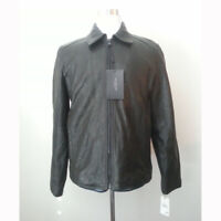 MARC NEW YORK Men Size M Black Leather Jacket