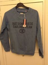 NEW!! Jack Wills Sweatshirt Marine Nautical Sailing Boat Print