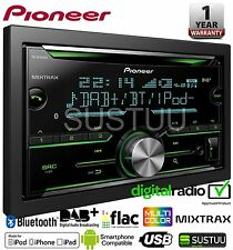 Pioneer FH-X840DAB 2-Din Bluetooth Spotify DAB/DAB + Usb Cd Aux iPhone Android
